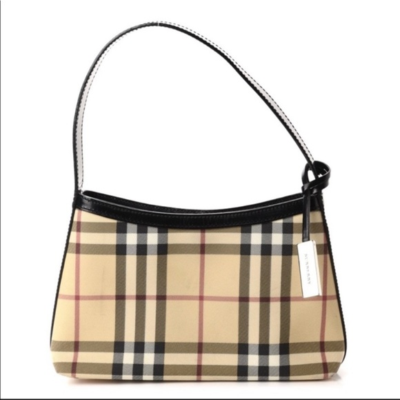 ‼️SOLD ‼️Authentic Burberry Small Nova Check Bag
